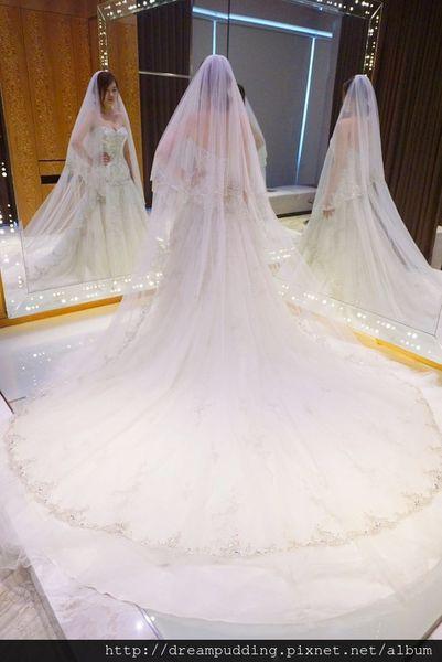 茱莉亞精品婚紗體驗,夢幻白紗篇│台中茱莉亞精品婚紗分享