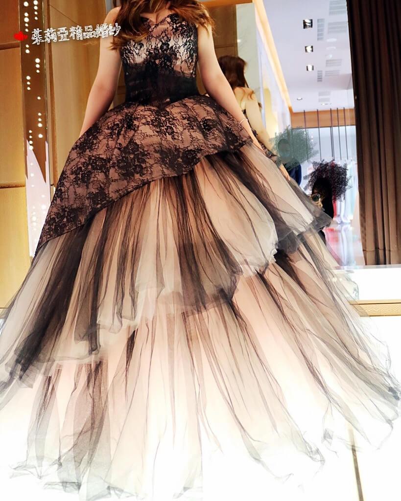 台中茱莉亞極致美的婚紗推薦,女孩兒夢寐