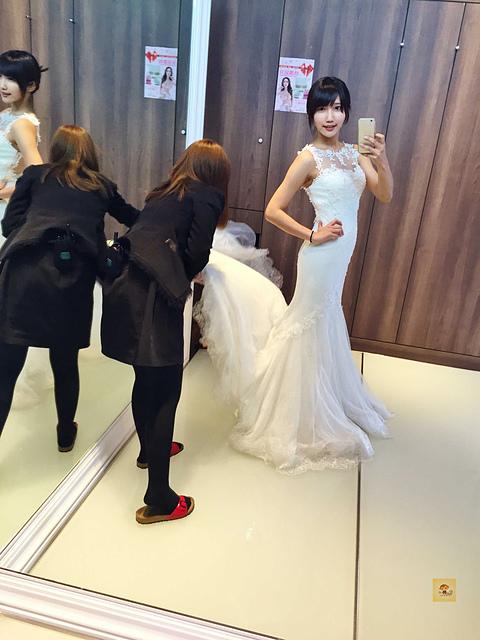 女孩兒憧憬的公主婚紗、魚尾婚紗盡在茱莉亞│台中茱莉亞精品婚紗分享