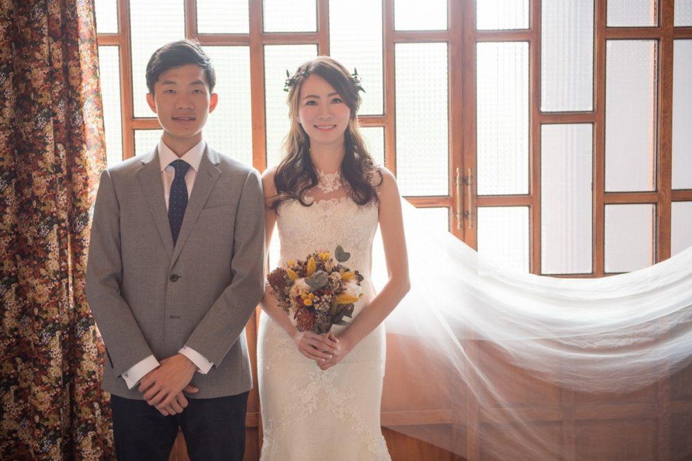 鴻文&怡絜│茱莉亞精品婚紗新人分享