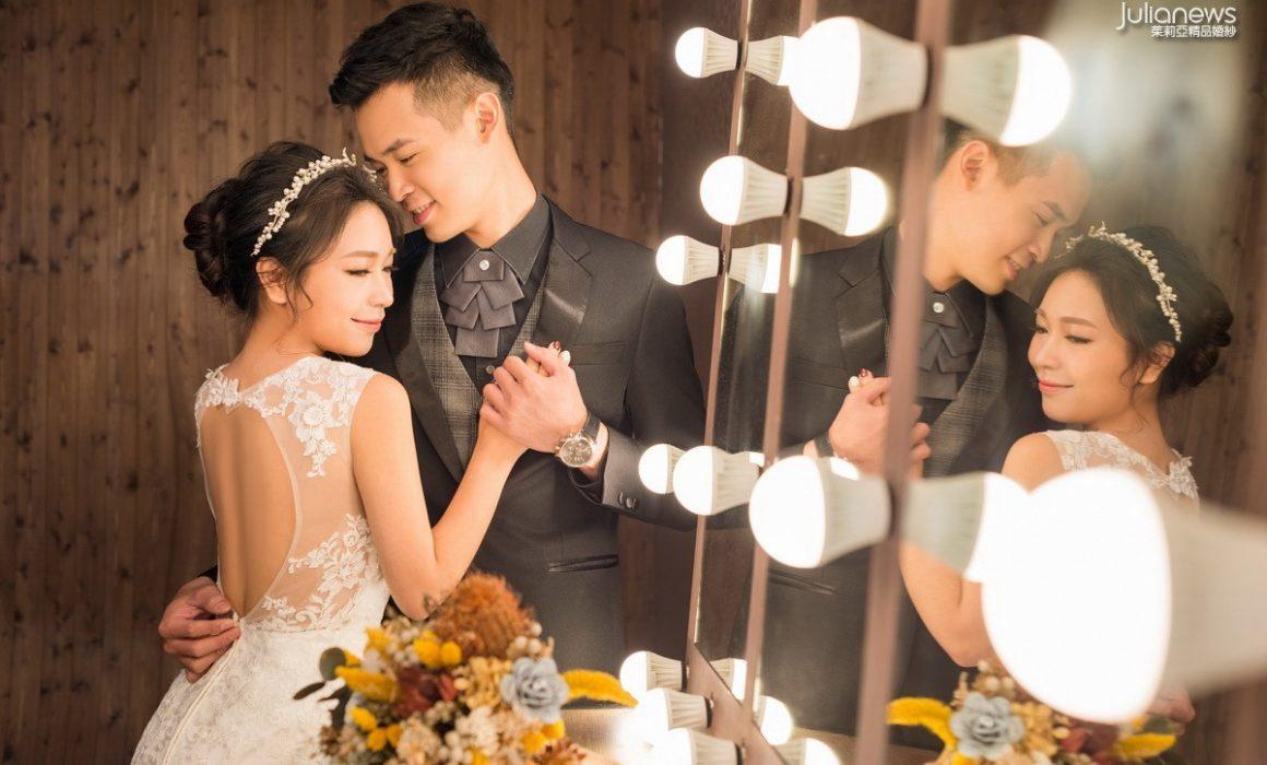 鵬文 & 靖珂│茱莉亞精品婚紗新人分享