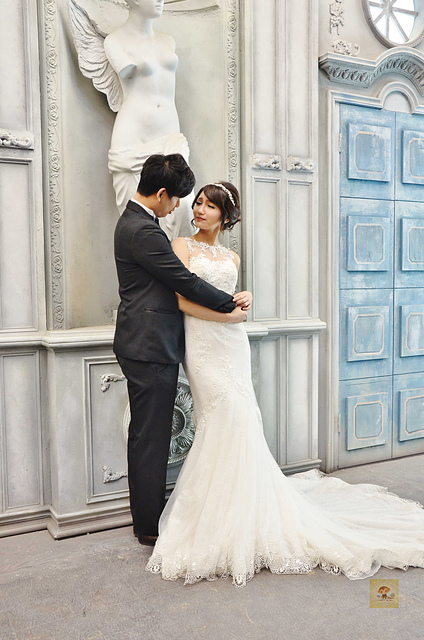 那些年我們一起拍過浪漫唯美的婚紗│台中茱莉亞精品婚紗分享