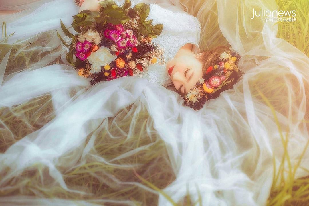 茱莉亞 夢幻婚紗照