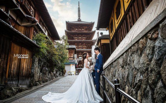 茱莉亞婚紗-京都旅拍