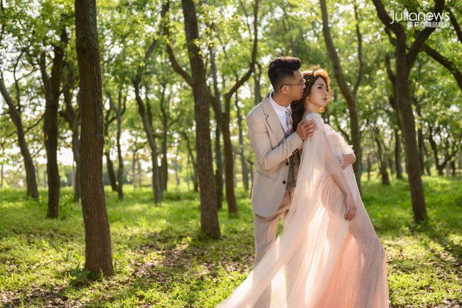 茱莉亞婚紗-婚紗攝影-九天森林