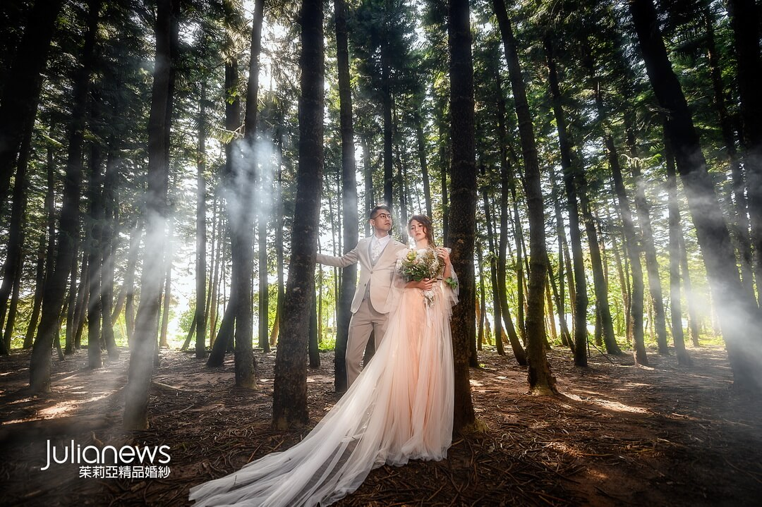 茱莉亞婚紗-婚紗攝影-仙氣婚紗