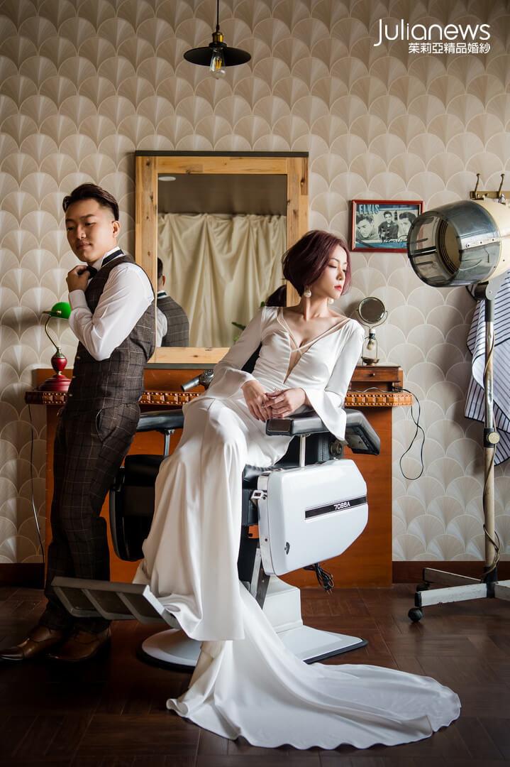 台中婚紗推薦-茱莉亞婚紗-禮服