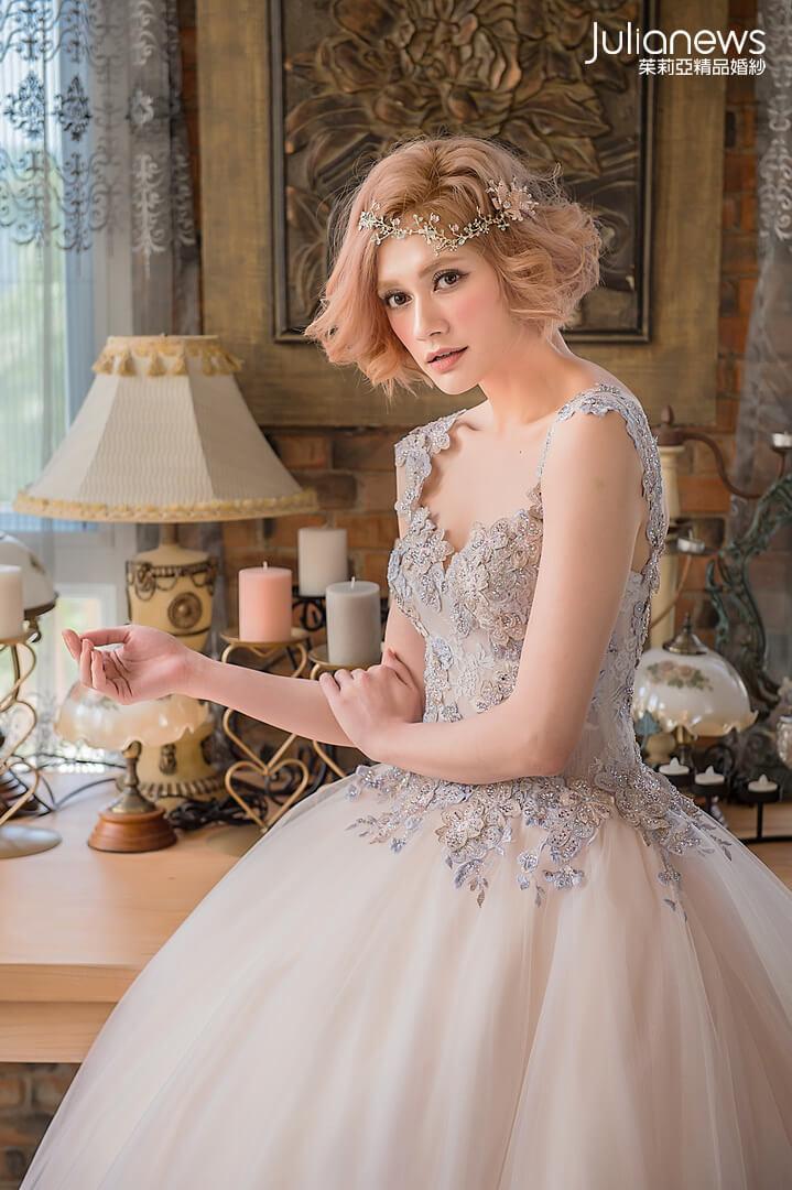 台中婚紗推薦-台中茱莉亞婚紗-禮服