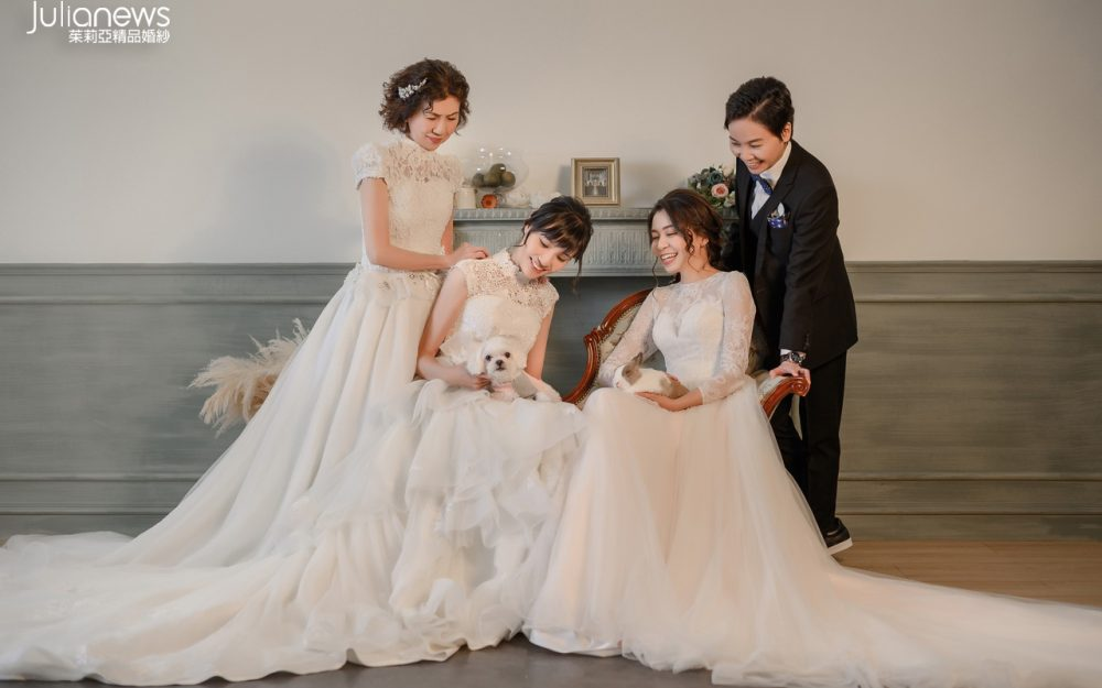 台中婚紗推薦-茱莉亞婚紗-全家福-閨蜜照