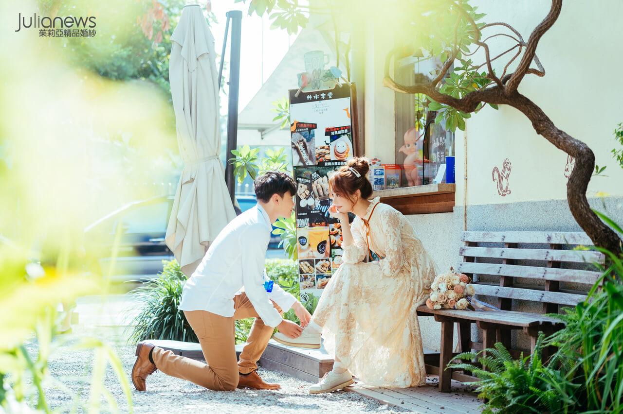 台中婚紗推薦-茱莉亞婚紗-審計新村
