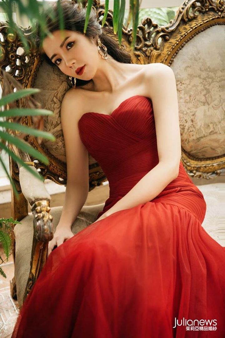 茱莉亞婚紗 禮服照