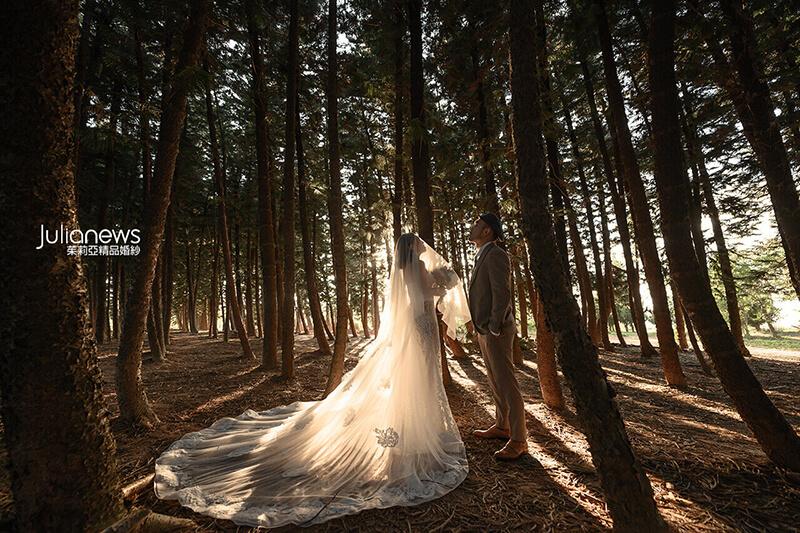 台中婚紗推薦-茱莉亞婚紗-九天森林