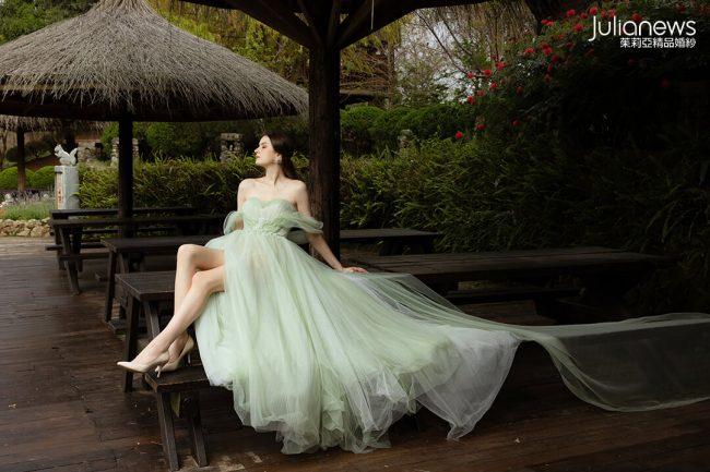 台中茱莉亞精品婚紗 綻放系列